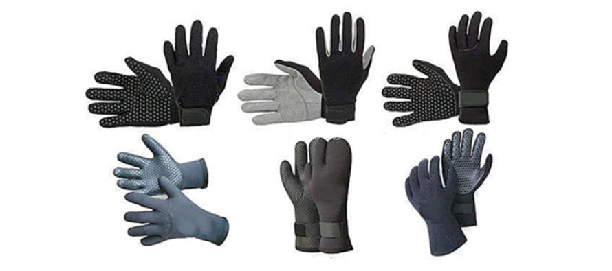 Rękawice nurkowe – Jak zadbać o komfort naszych dłoni ?