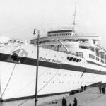 historyczne zdjęcie statku Wilhelm Gustloff