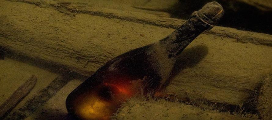 Najstarszy wyłowiony szampan został sprzedany na aukcji!