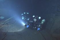 Nurkowanie w kopalni Christine I w Willingen – video