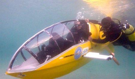Testy pod wodą