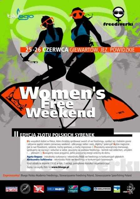2 Womens Free Weekend