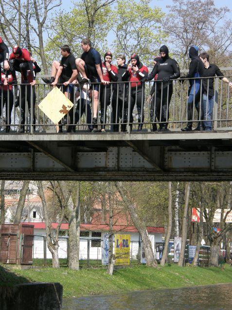 Nurkowy Śmigus-Dyngus 2011