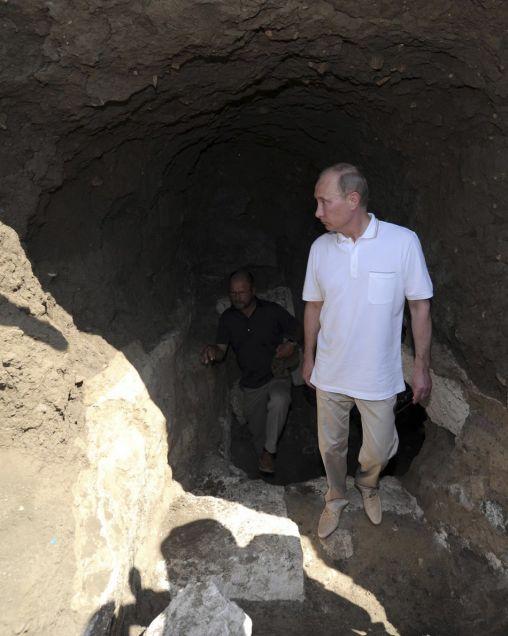 Teren wykopalisk