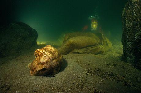 Piękna Aleksandria pod wodą