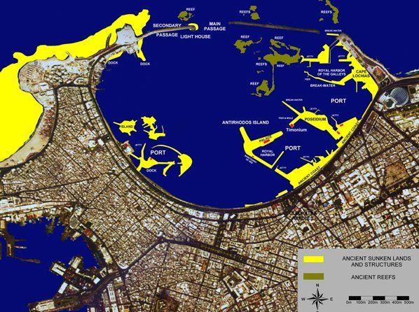 Mapa Aleksandrii