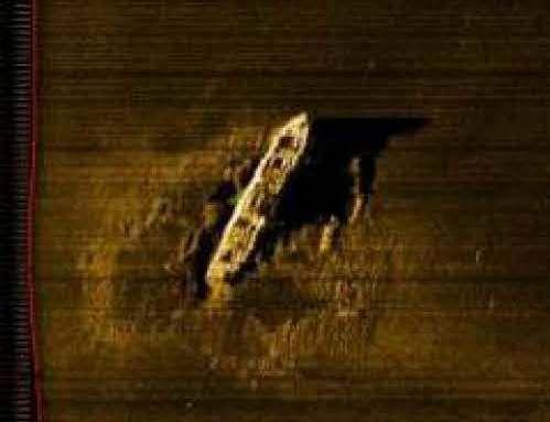 Zdjęcie z sonaru