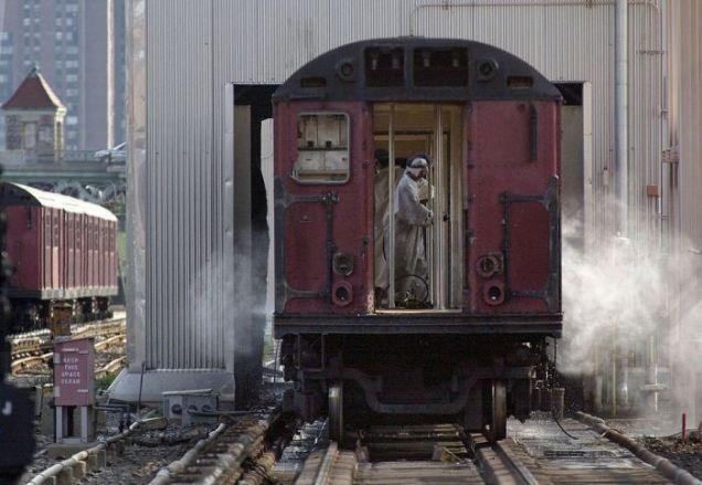 Oczyszczanie wagonów