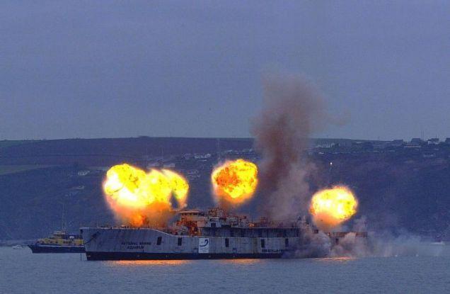 Wybuchy na statku
