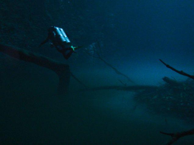 Kurs nurkowania jaskiniowego