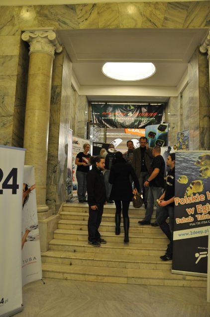 Wejście do sali wystawców