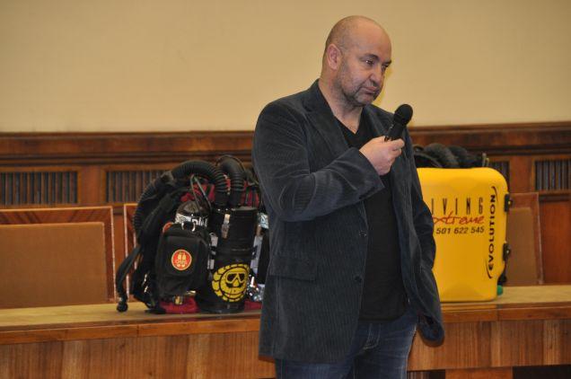 Adam Wysoczański o szkoleniach TDI na rebretherach