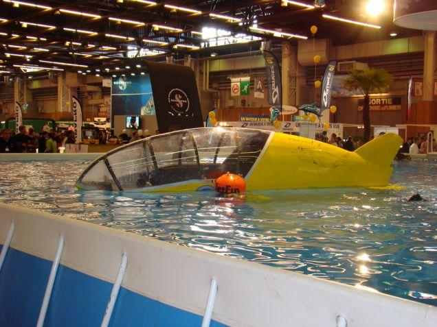 Scubster - łódź powdwodna dla nurków
