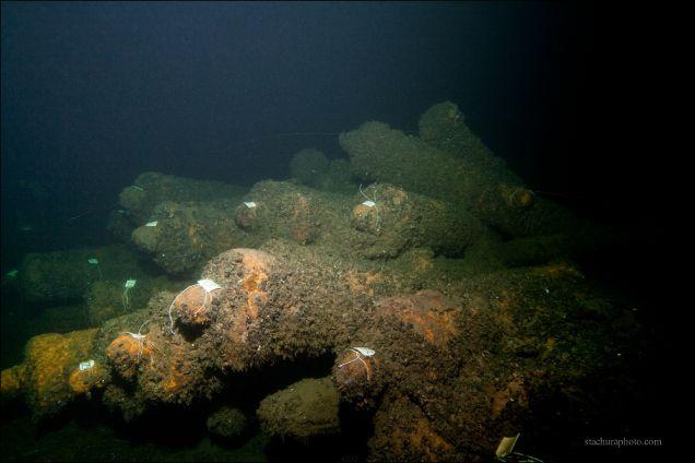 Armaty pod wodą