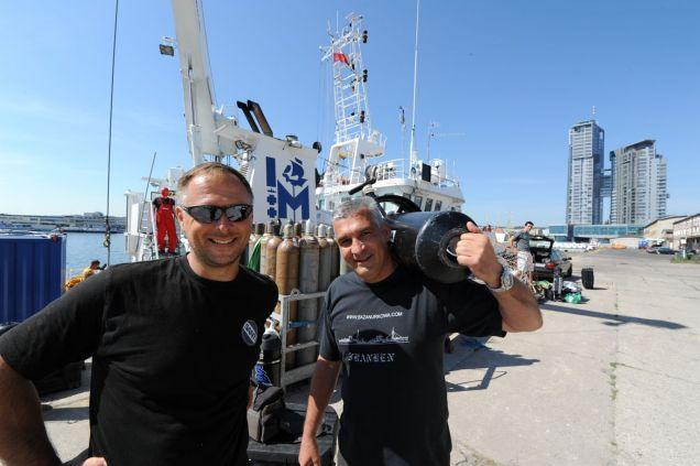 Tomasz Stachura i Dimitris Stavrakakis