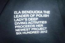 Koszulka od Eli Benduckiej na aukcji charytatywnej