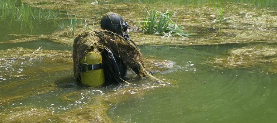 Znaleziska archeologiczne w jeziorze Łodygowo