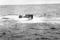 Wrak okrętu podwodnego koło wyspy Nantucket