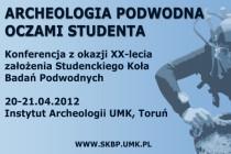 Archeologia podwodna oczami studenta