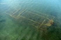 Zatopiona bazylika w tureckim jeziorze Iznik