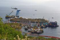 Podniesienie wraku Costa Concordia