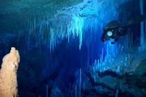 Nurkowanie jaskiniowe na Bahamach
