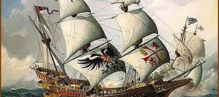 Galeon z XVIII w. odnaleziono we Włoszech