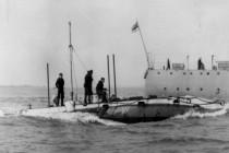 Nurkowanie na wraku 100-letniej łodzi podwodnej