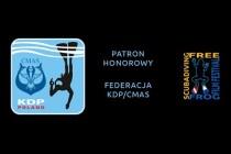 KDP CMAS patronatem Free Frog Scuba Diving Film Festival