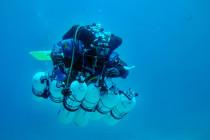 Test głębokościomierzy i podział zadań przed biciem rekordu