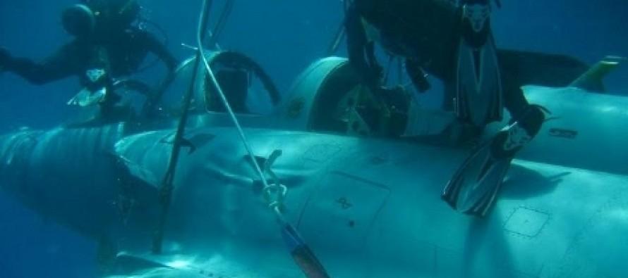 Grecy wyciągneli myśliwiec Mirage z dna morza