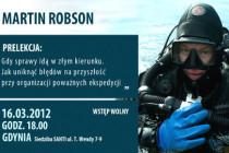 Spotkanie z Martinem Robsonem w Gdyni