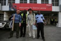 Pierwszy dzień w Sierra Leone