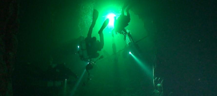 Nurkowanie w kopalni Tuna Hastberg