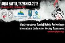 Pierwszy polski turniej hokeja podwodnego