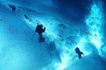 Nurkowanie podlodowe na biegunie