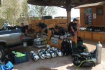 Goście w obozie Projektu335 i ostatni trening