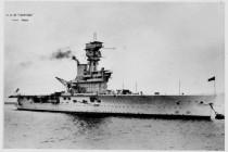 Próbowano ukraść działo z wraku HMS Hermes