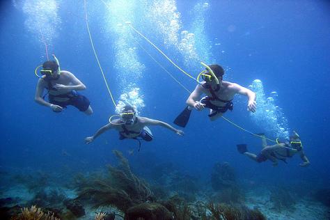 Snuba-Diving