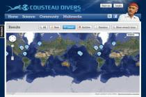 Cousteau wciela w życie projekt ochrony oceanów