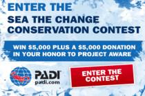 PADI ogłosiła zwycięzcę konkursu – Sea The Change