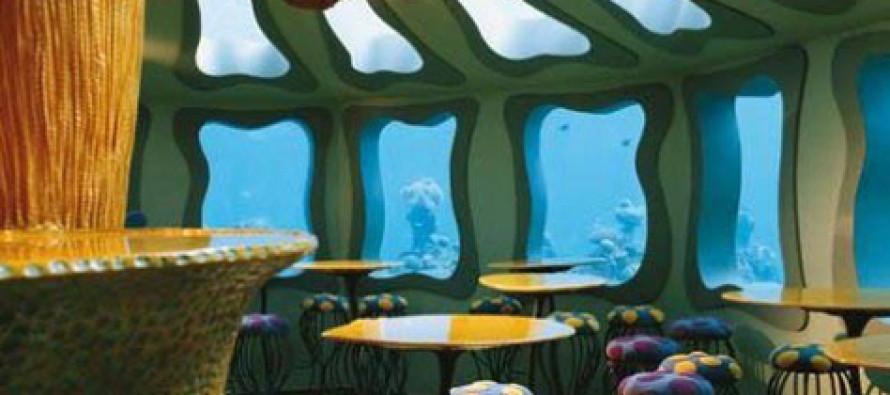 Podwodna restauracja w Izraelu