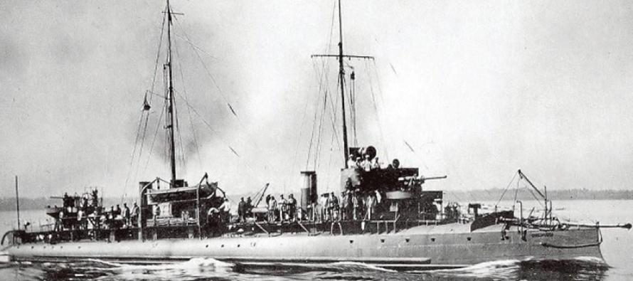 W Bałtyku odkryto wrak okrętu wojennego z 1914r.