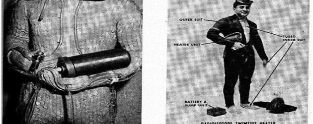 Skafander dla nurków US Navy ogrzewany energia nuklearną