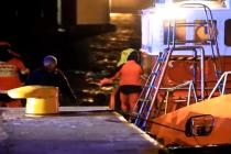 W Świnoujściu zatonął holownik Kuguar – video