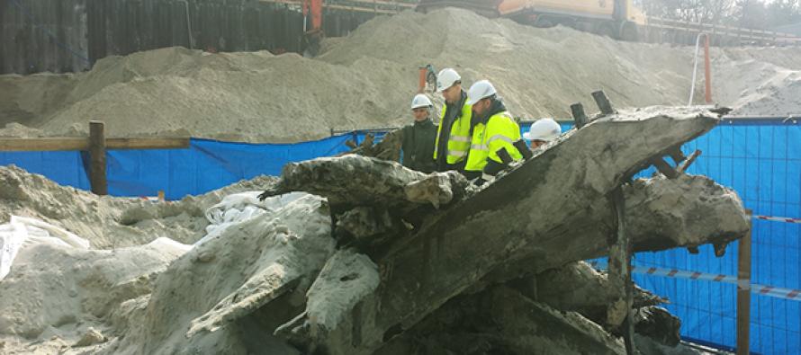 Świnoujście – w trakcie prac budowlanych odkryto… wrak statku!