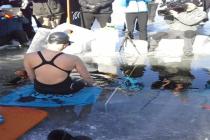 Fińska freediverka ustanowiła pod lodem rekord Guinnessa