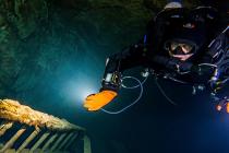 Najgłębsze podziemne nurkowanie w Polsce