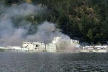 Vancouver: zatopiono okręt HMCS Annapolis – video