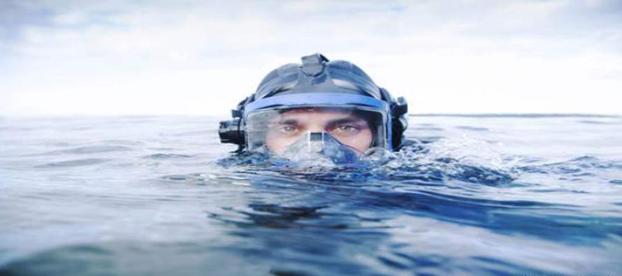 Pierwszy student, który obronił magistra… pod wodą!
